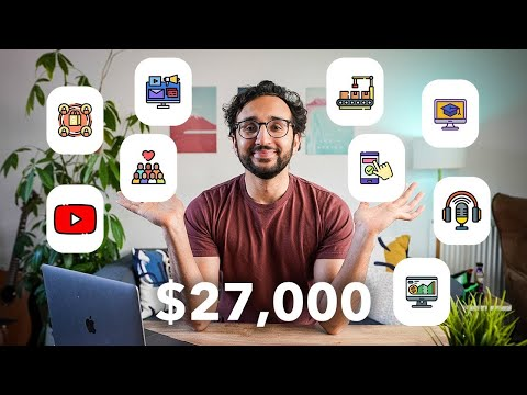 9 Passive Income Ideas - How I Make $27k Per Week