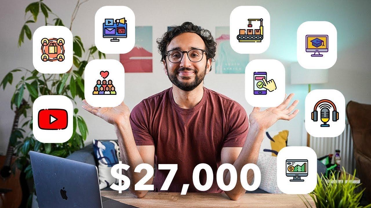 Download 9 Passive Income Ideas - How I Make $27k per Week