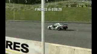 8.29s XR Turbo on Dragstrip
