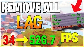 HOW TO REDUCE LAG AND INCREASE FPS ON ROBLOX *WORKING* (2019!) NO LAG IN ROBLOX JAILBREAK