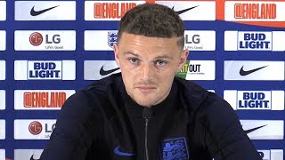 Kieran Trippier Looks Ahead To England Fixtures Against Spain & Switzerland - Full Press Conference