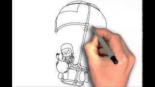 How to draw Balloon Clash of Clans - drawing tutorial step by step easy