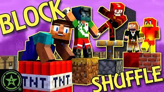 Musical Chairs in Minecraft! - Block Shuffle Mod