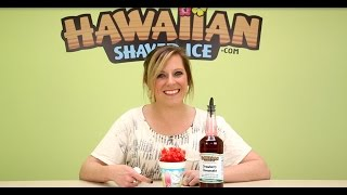 Strawberry Cheesecake Shaved Ice And Snow Cone Syrup
