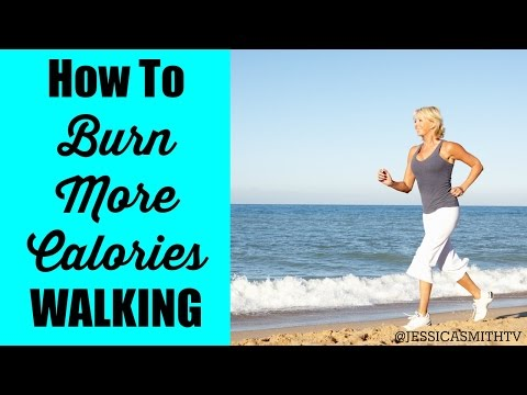 Walking To Lose Weight How To Burn More Calories Walking
