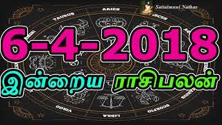 இன்றைய ராசிபலன்-6-4-2018 - Today Astrology - Sattaimuni Nathar