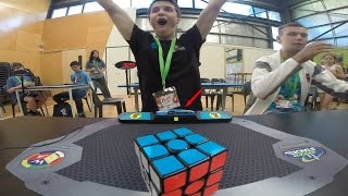 Rubik's Cube World Record 4.73 Feliks Zemdegs Slow Motion thumbnail