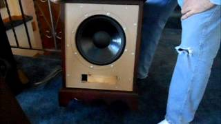 12 Inch Speaker (dual Coil) Cabinet Made From Hotel Nightstand (st)