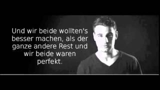 T-zon - Wir beide - Lyrics on Screen