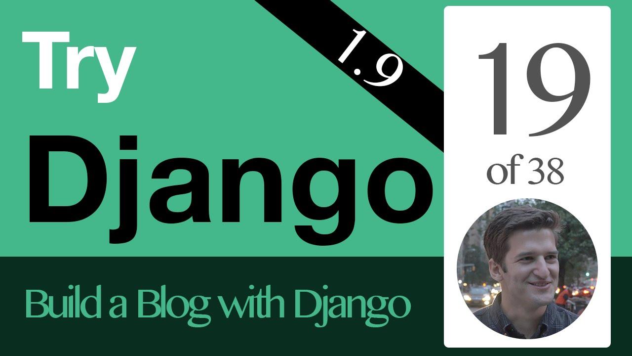 Try Django 1 9 - 19 of 38 - URL Links & Get Absolute URL