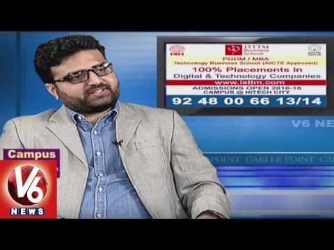 Career Point | PGDM & MBA Coaching | ISTTM Academy | V6 News