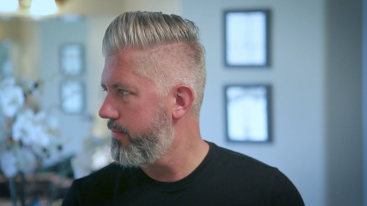 How To Own Embrace Your Gray Hair Men S Hair 2019 Youtube