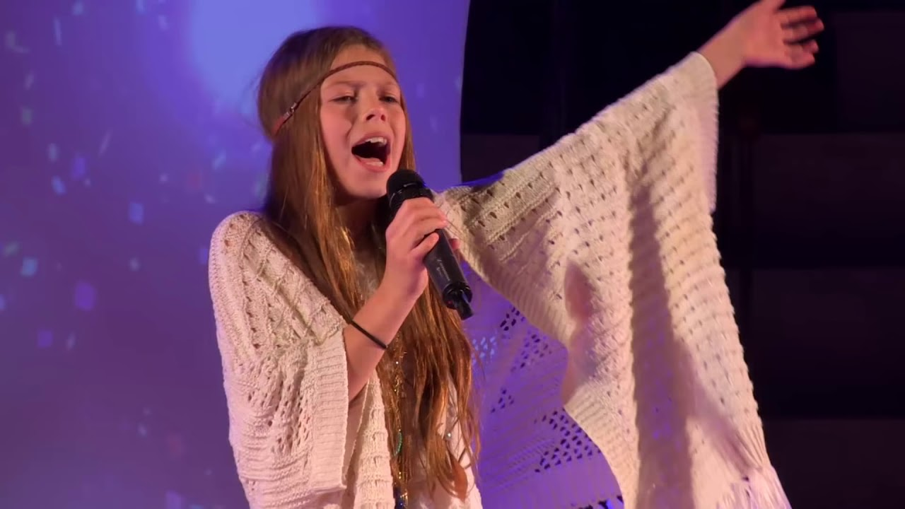 We Found Love Rhianna Performed By Courtney Hadwin At Teenstar Singing Contest