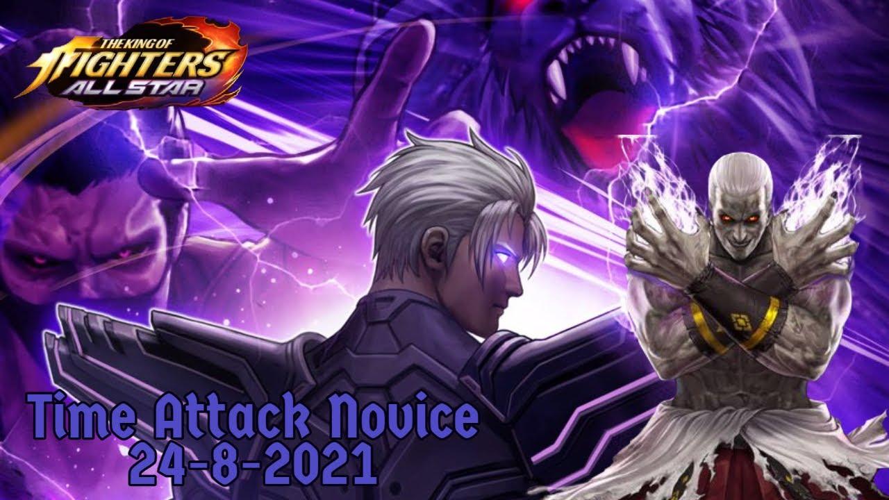 [KOF ALLSTAR]Time Attack Novice(Mecha Goenitz)|BS Geese|BS Zero| 24- 8-2021