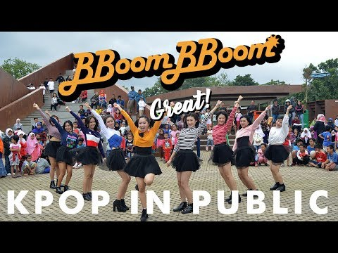 [KPOP IN PUBLIC CHALLENGE] MOMOLAND (모모랜드)   BBoom BBoom (뿜뿜) Dance Cover by Mynistix from Indonesia