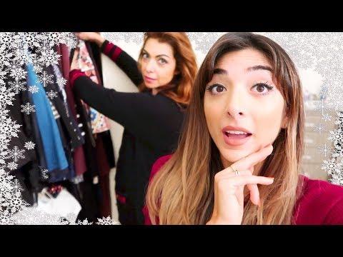 ORGANISING MY MUM'S CLOSET!|Vlogmas Day 4