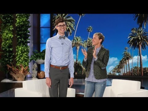 Ellen Meets LGBT Activist & Valedictorian Seth Owen from YouTube · Duration:  4 minutes 32 seconds