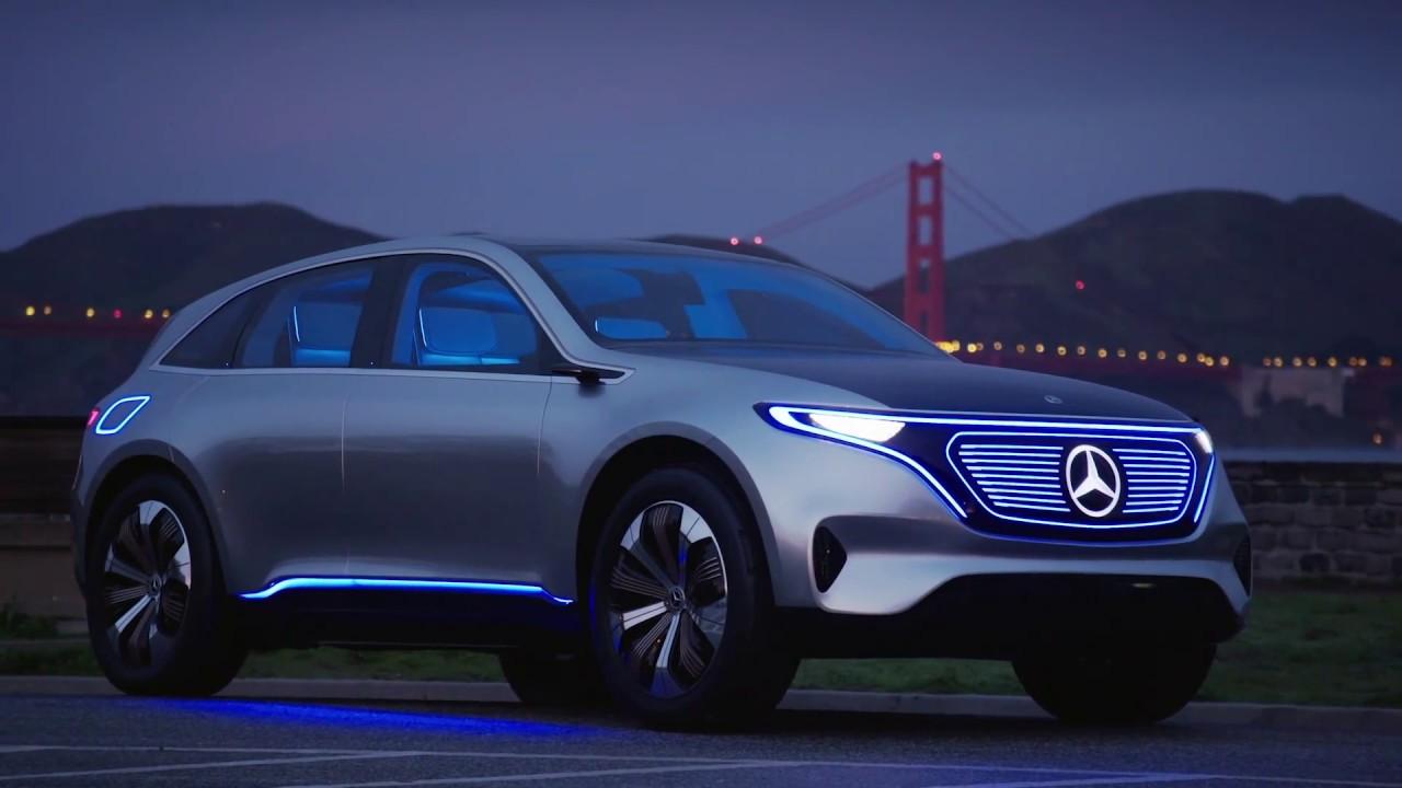 Mercedes-Benz Concept EQ - Electric Car Design - YouTube