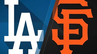 Giants hand Dodgers 11th straight loss: 9/11/17