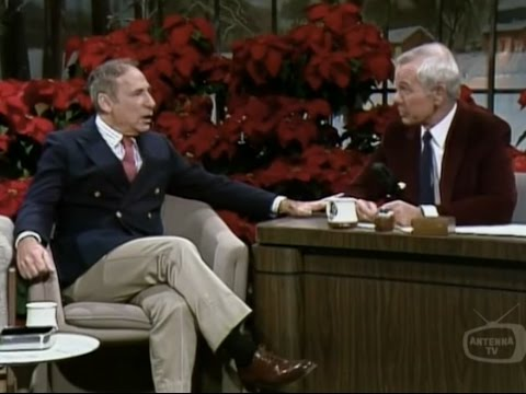 Mel Brooks Carson Tonight Show 1983