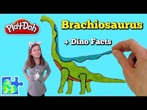 brachiosaurus-||-dinosaur-fun-facts-||-play-doh-dinosaur