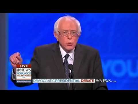 Bernie Sanders slams Clinton on regime change