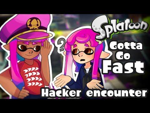 Super speed! - Hacker encounter! [Splatoon]