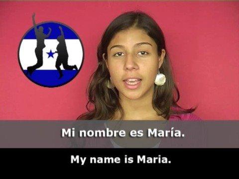 Giáo trình tiếng Tây Ban Nha- Bài 1: Tôi tên Maria