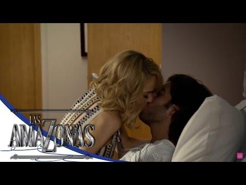 ¡Constanza besa a Emiliano! - Las Amazonas*