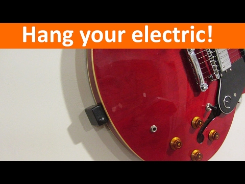 Floating Electric Guitar Mount DIY