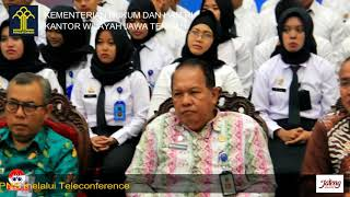 Presidential Lecture Bagi CPNS Melalui Teleconference