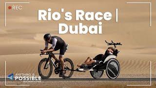 #RiosRace 1.9km Swim, 90km Bike, and 21km Run in Dubai | Anything is Possible with Patrick Tsang