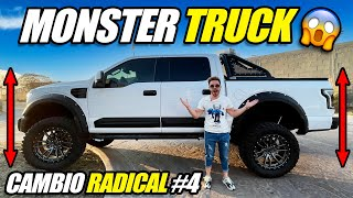 CAMBIO RADICAL #4 A MI CAMIONETA 😱 MONSTER TRUCK 💰RODADO + SUSPENSION
