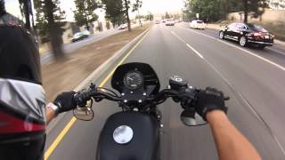 New Riders' First Bikes, Accident Talk, Lane splitting in CA is like playing roulette