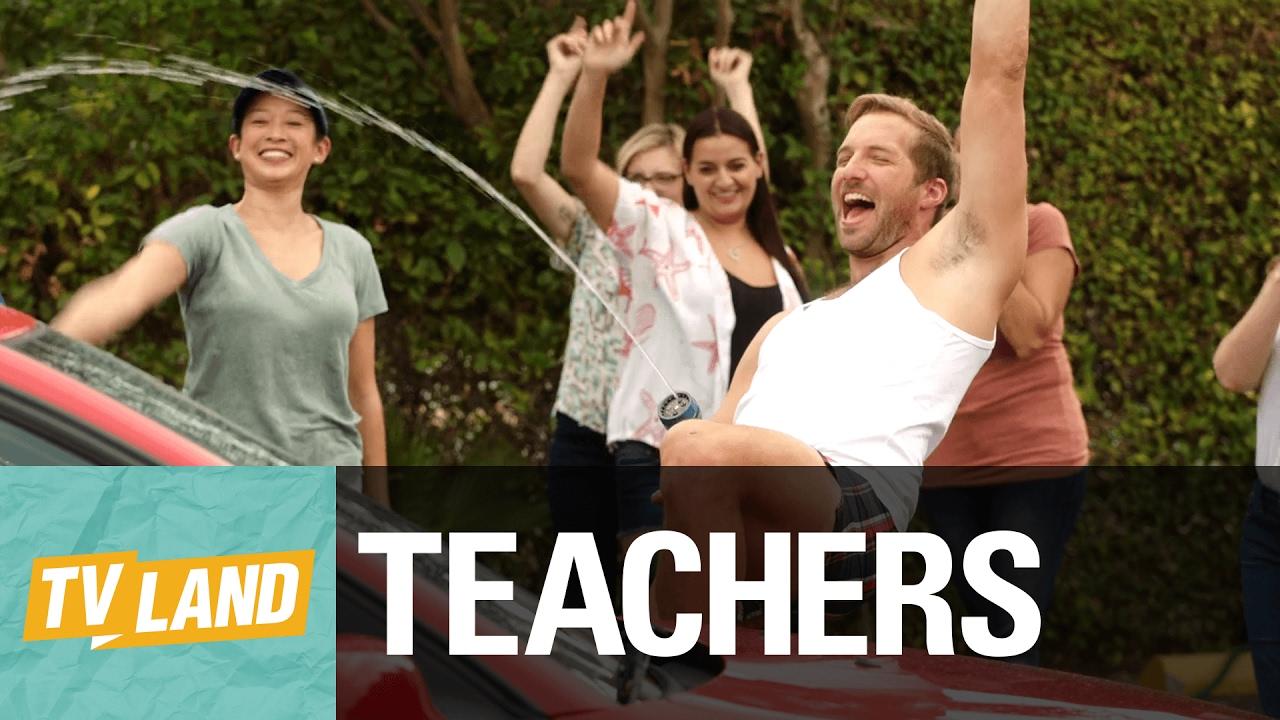 Download 'Ladies, It's Time to Get Wet!' ft. Ryan Hansen Official Clip   Teachers on TV Land (Season 2)