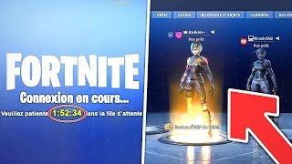 NE PLUS AVOIR LA FILE D'ATTENTE / MAINTENANCE sur FORTNITE 😱 ( SECRET )