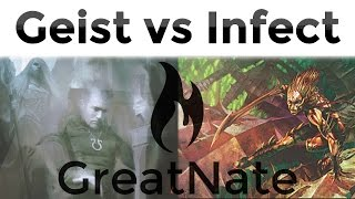 3/25/15: Dinner Time - Jeskai (UWR) Geist vs UG Infect - Modern MTG