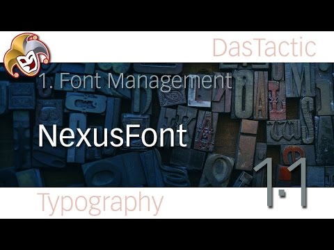 1.1 ~ NexusFont ~ Free Windows Font Manager