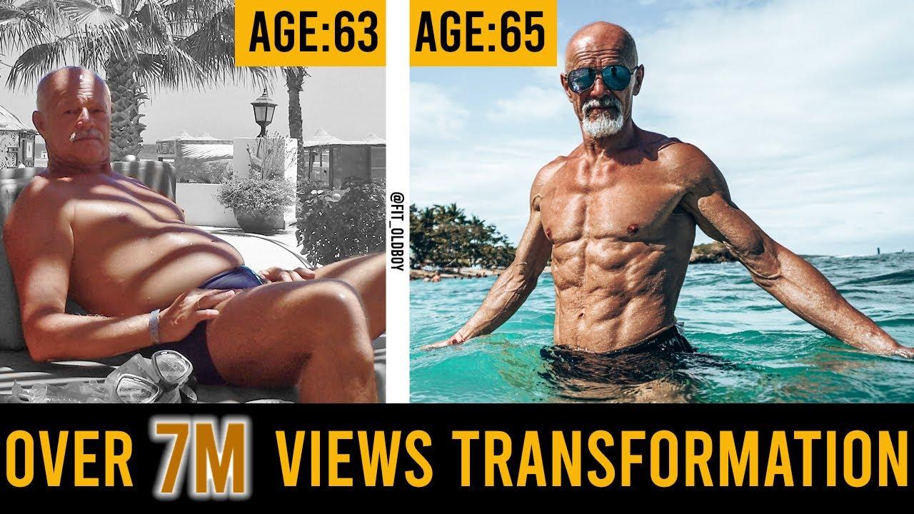 Трансформацията на един 65 годишен мъж! Никога не е късно да започнеш!