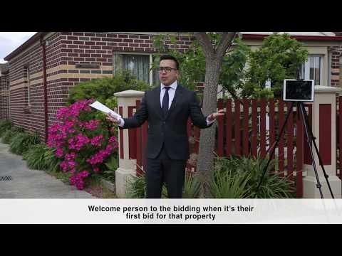 Auction Tutorial - Michael Choi - Melbourne Real Estate Training