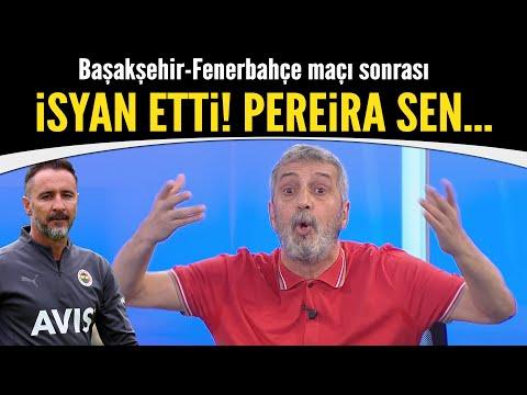 Abdülkerim Durmaz Başakşehir-Fenerbahçe maçı sonrası isyan etti!