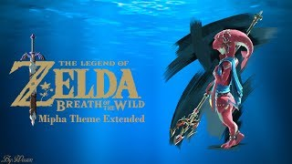 The Legend Of Zelda Breath Of The Wild Mipha's Theme Extended