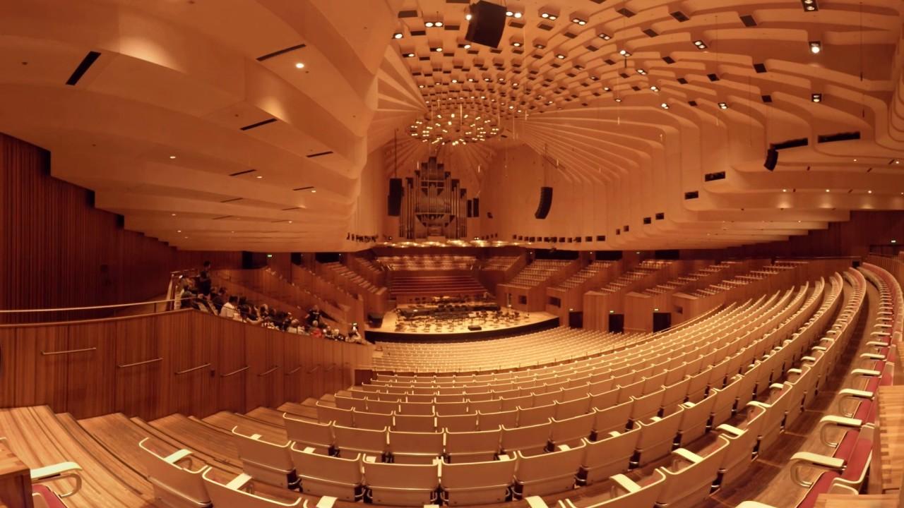 Sydney opera house studio