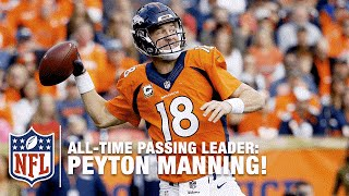 Peyton Manning is the NFL All-Time Passing Yards Leader! | Chiefs vs. Broncos | NFL