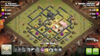 The strongest war base: Base war TH 9 terkuat (replay attact) Maret 2017 - tipe 41