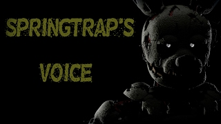 - SFM FNAF Springtrap s Voice RUS by Diagrian