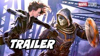 Black Widow Trailer - Avengers Marvel Phase 4 Trailer D23 Panel Breakdown