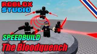 Speed ​​Build : Navarone19 CH Model 4 The Bloodquench - roblox studio