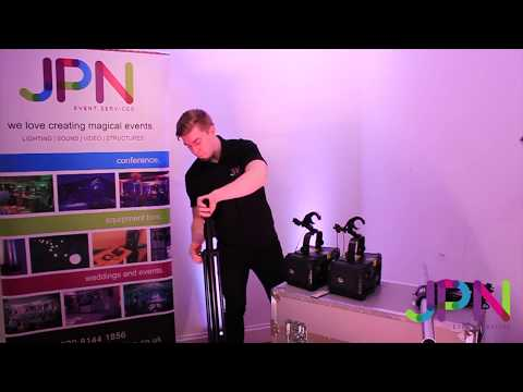Lighting Package 1 - Disco Lighting Hire How To | JPN Event Services: Essex & London
