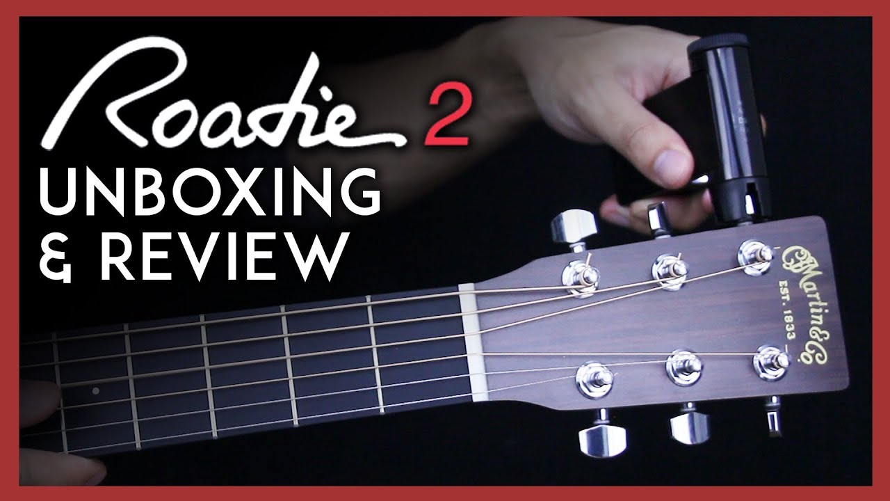 roadie 2 unboxing review automatic guitar tuner youtube. Black Bedroom Furniture Sets. Home Design Ideas